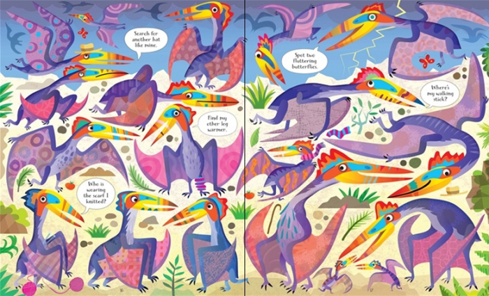 Dinosaurs puzzle book and jigsaw [3]