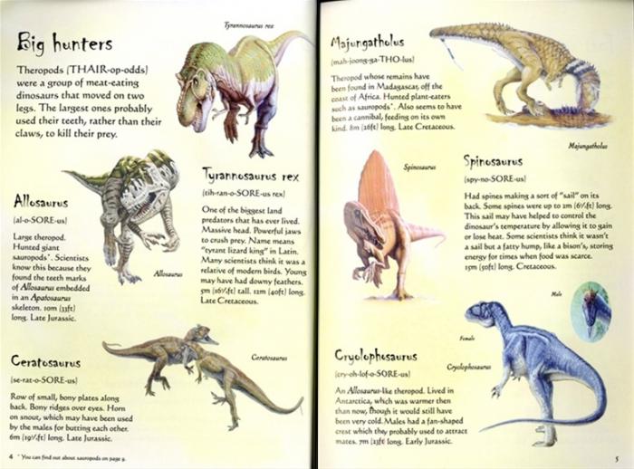 Dinosaurs sticker book [2]