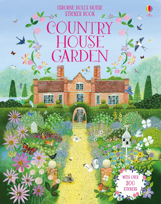 Doll's house sticker book: Country house garden [0]