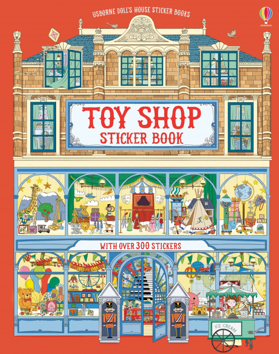 Doll's house sticker book: Toy shop [0]
