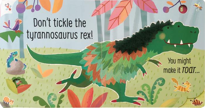 Don't Tickle the Dinosaur! [1]