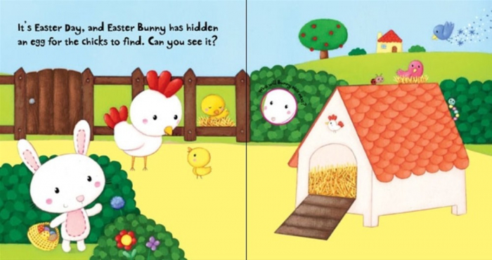 Easter Bunny Flap Book [3]
