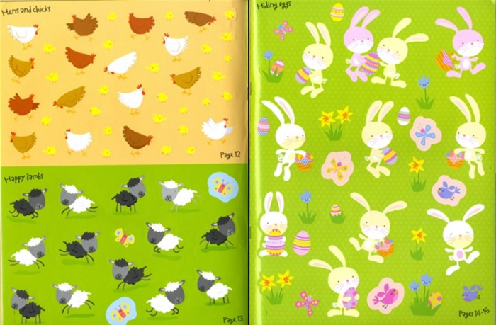 Easter sticker book [4]