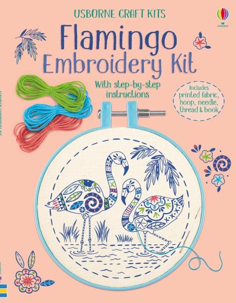 Embroidery kit: Flamingo [0]