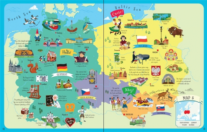 Europe atlas and jigsaw [2]