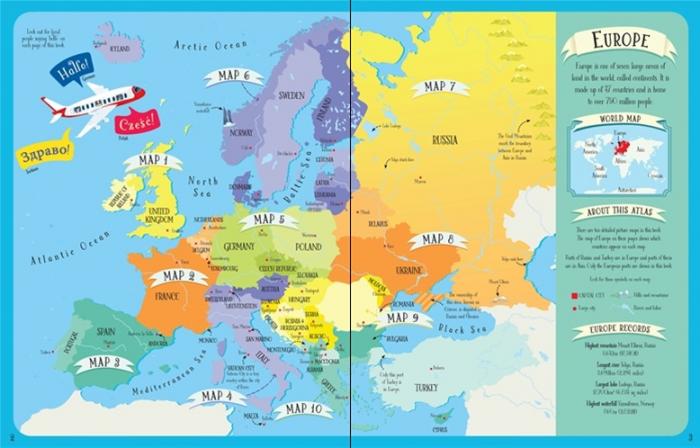 Europe atlas and jigsaw [1]