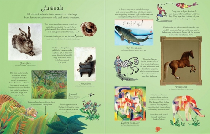 Famous paintings picture book [1]