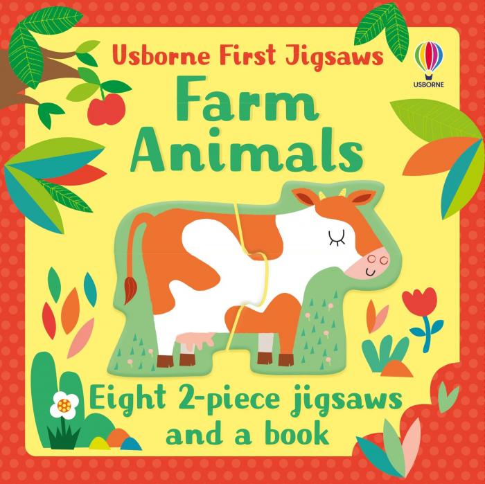 Farm Animals Usborne First Jigsaw [0]