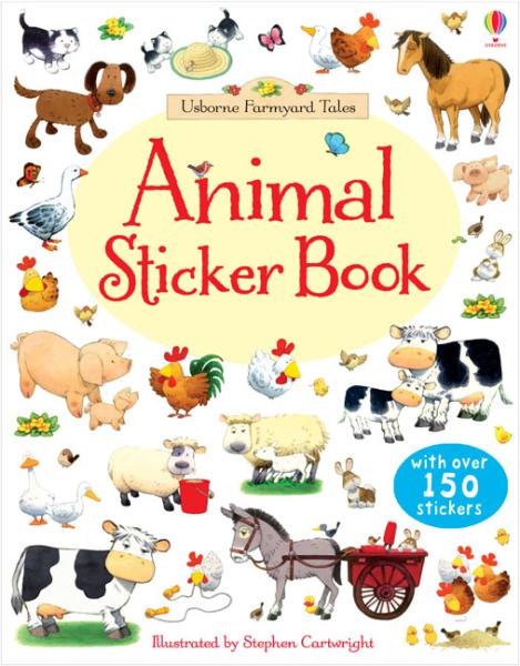 Farmyard Tales animals sticker book [0]