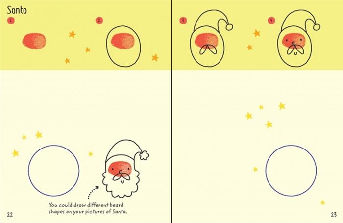 Finger printing Christmas [3]