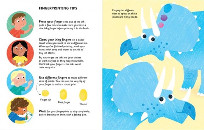 Fingerprint activities dinosaurs [1]