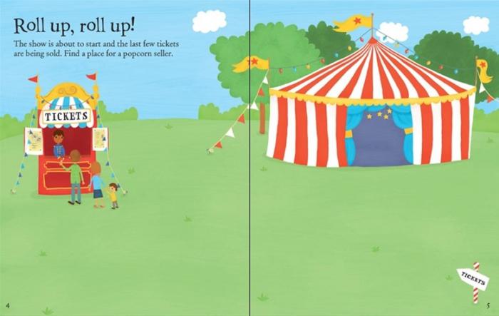 First sticker book Circus [1]