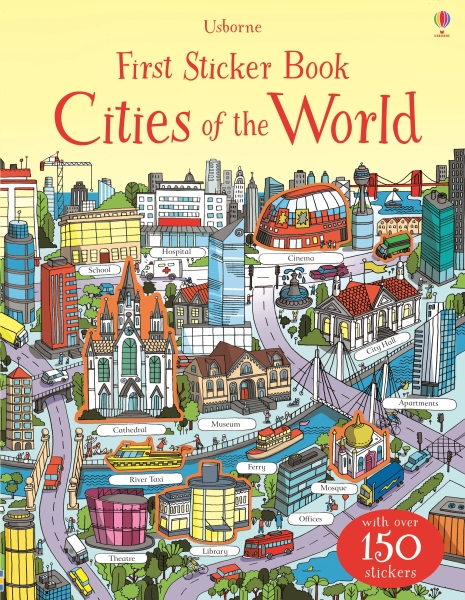 First sticker book Cities of the world [0]