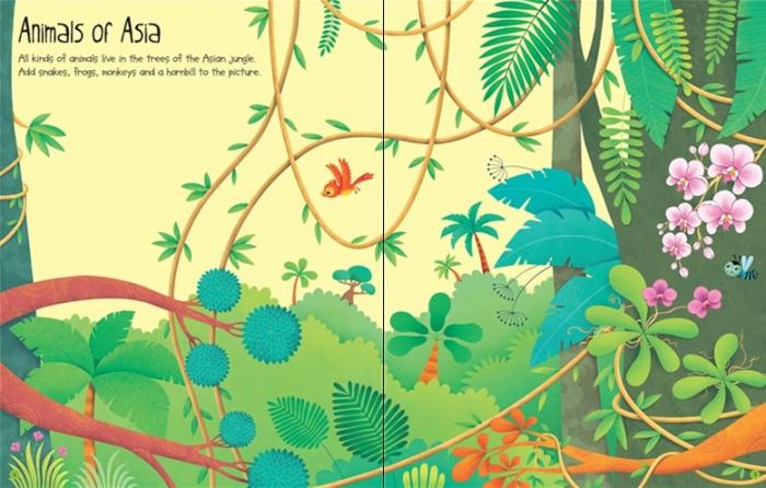 First sticker book Jungle [1]