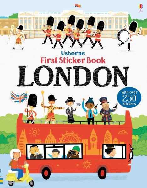 First sticker book London [0]