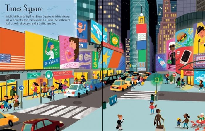 First sticker book New York [1]