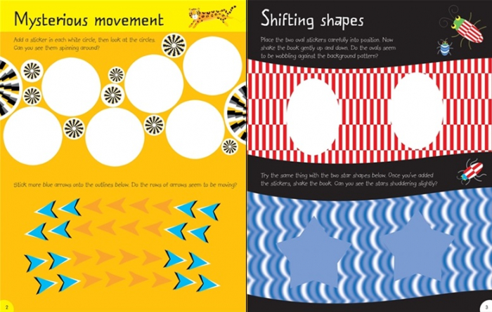 First Sticker Book Optical Illusions [1]