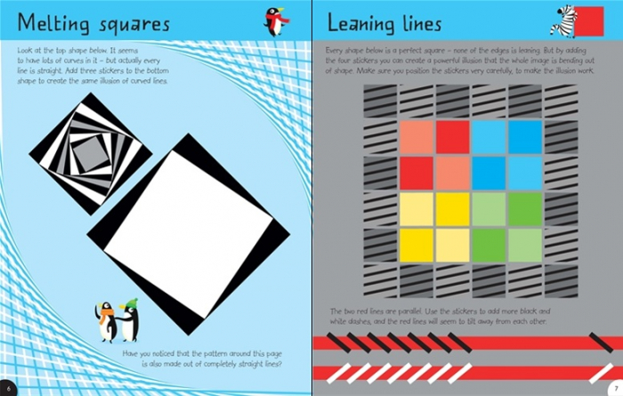 First Sticker Book Optical Illusions [2]