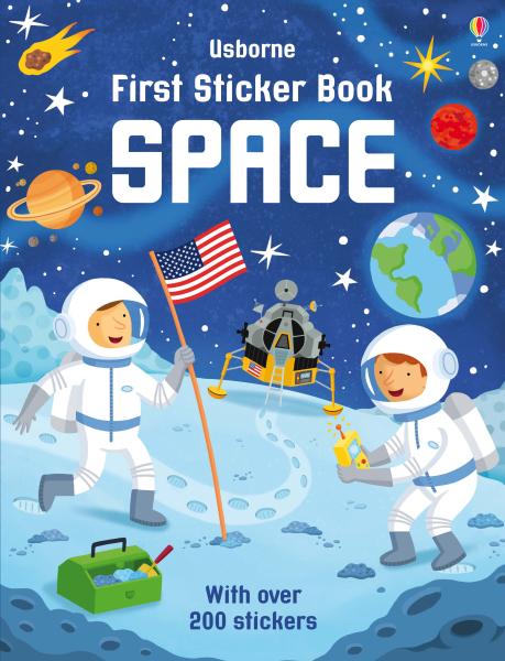 First sticker book Space [0]