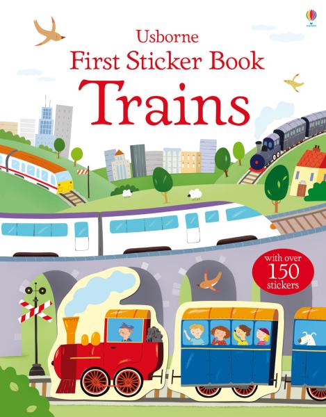 First sticker book Trains [0]