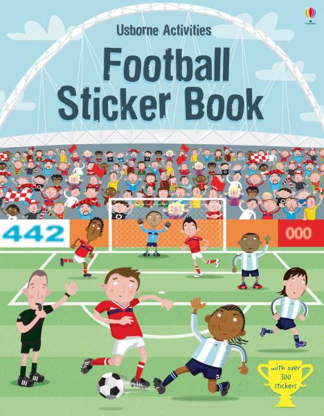 Football sticker book [0]