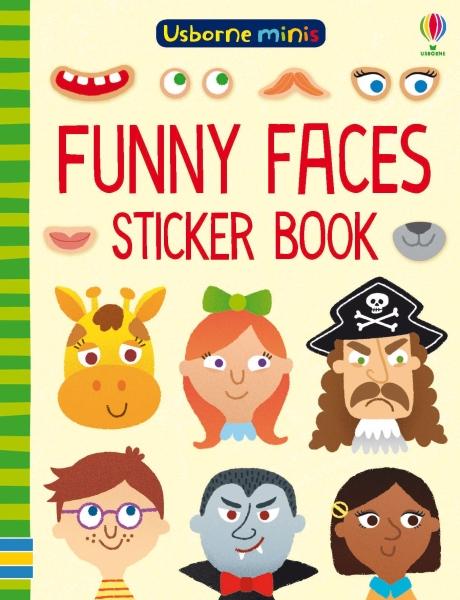 Funny faces sticker book [0]