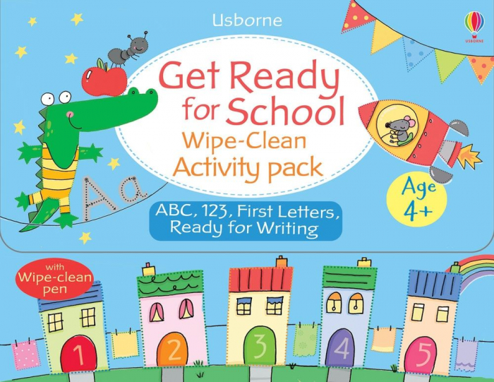 Get ready for school wipe-clean activity pack [0]
