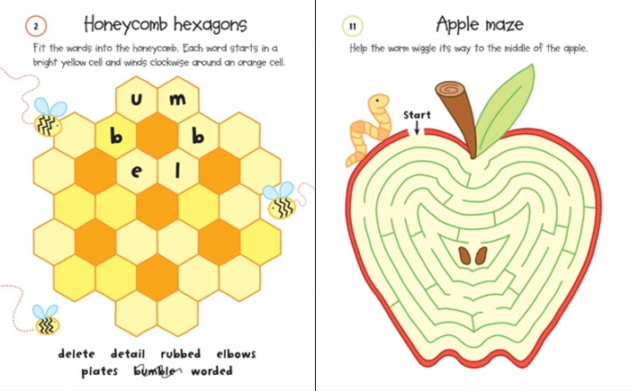 Holiday puzzle pad [3]
