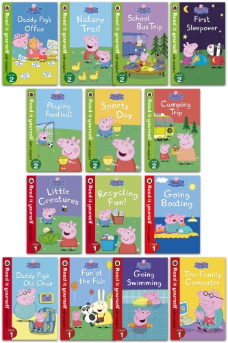 Read It Yourself with Ladybird Peppa Pig 14 Books Children Collection Set [0]