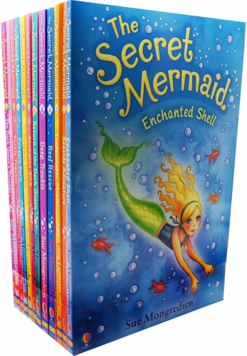 The Secret Mermaid Collection By Sue Mongredien 12 Books Set Collection Pack [0]