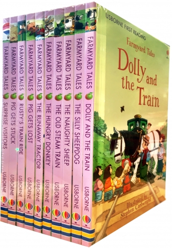 Usborne Farmyard Tales 10 Books Collection Set [0]
