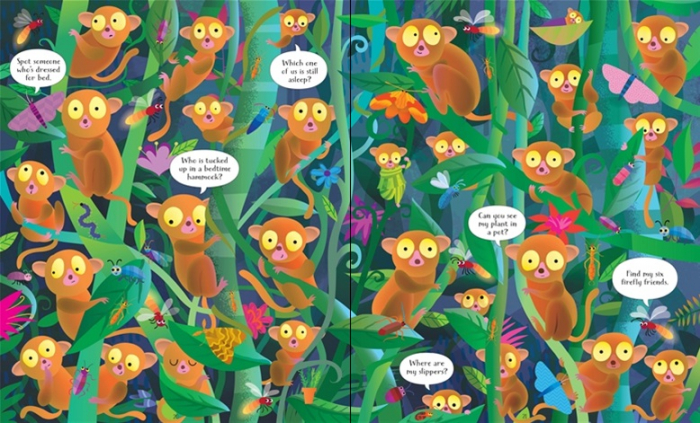 In the jungle puzzle book and jigsaw [3]
