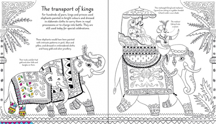 Indian patterns to colour [3]