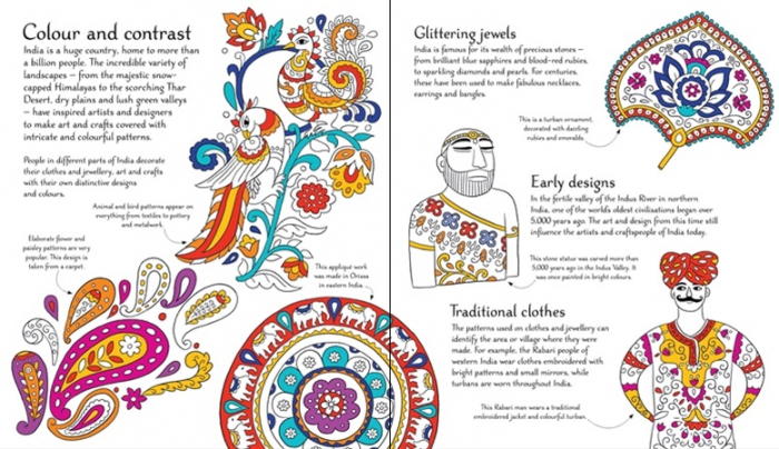 Indian patterns to colour [1]