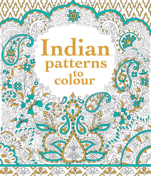 Indian patterns to colour [0]