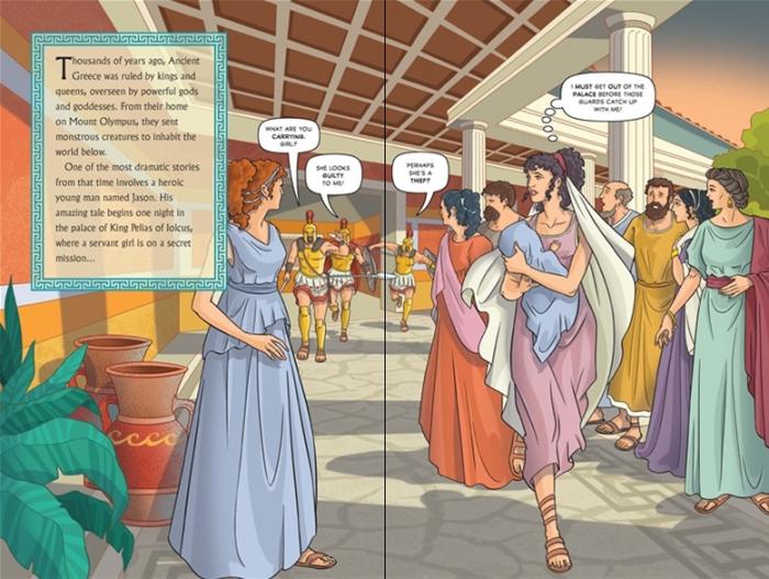 Jason and the Argonauts graphic novel [3]