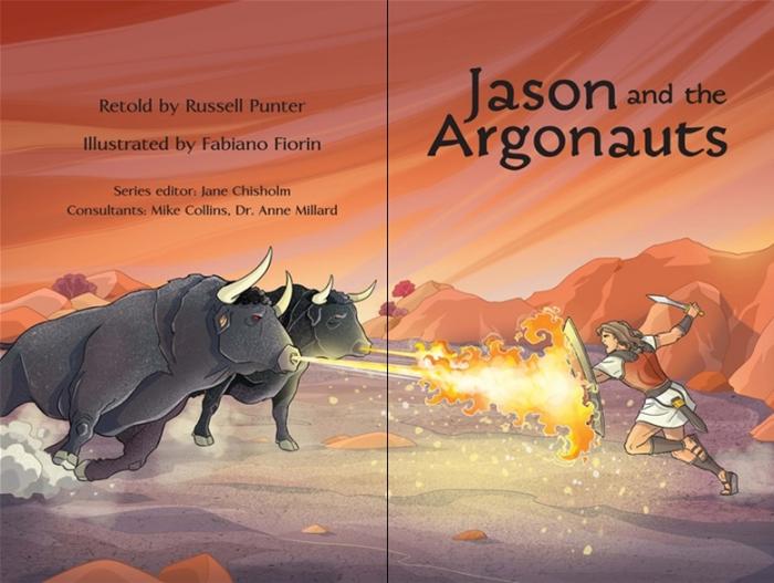 Jason and the Argonauts graphic novel [1]