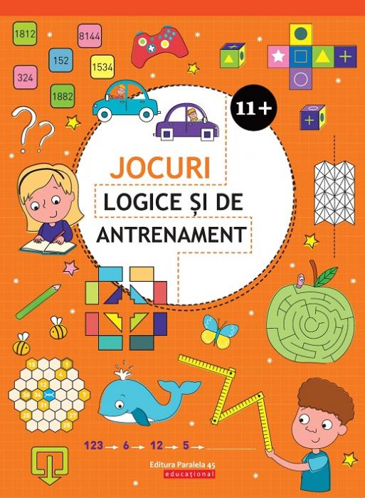 JOCURI LOGICE SI DE ANTRENAMENT. 11 ANI+ [0]