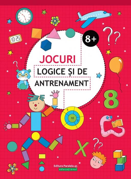 JOCURI LOGICE SI DE ANTRENAMENT. 8 ANI+ [0]