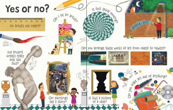 Lift-the-flap questions and answers about art [1]