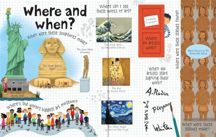 Lift-the-flap questions and answers about art [2]