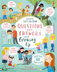 Lift-the-flap questions and answers about growing up [0]