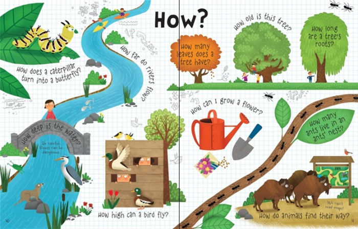 Lift-the-flap questions and answers about nature [4]