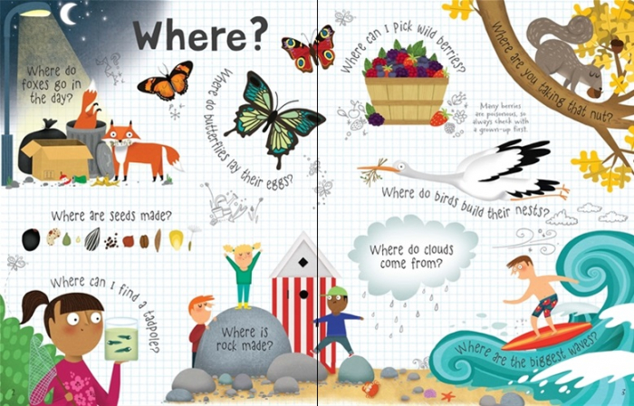Lift-the-flap questions and answers about nature [1]