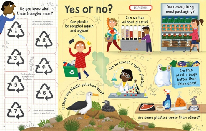 Lift-the-Flap Questions and Answers About Plastic [3]