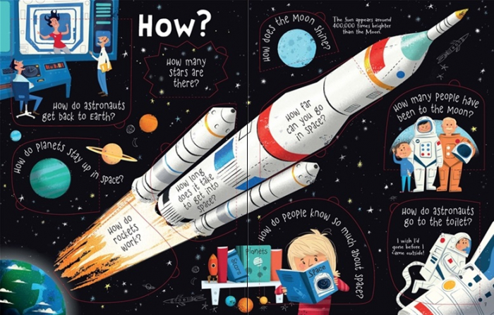Lift-the-flap questions and answers about space [3]