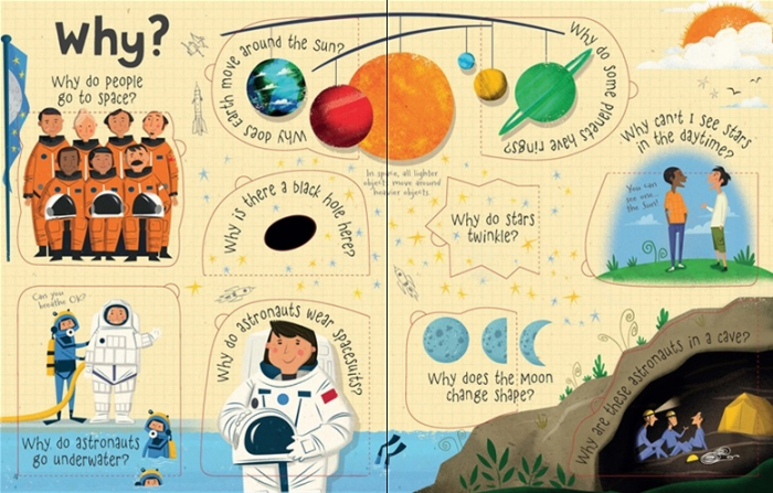 Lift-the-flap questions and answers about space [2]