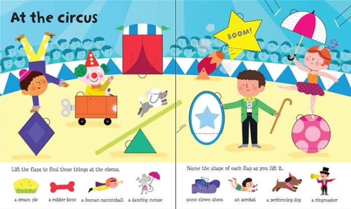 Lift-the-flap word book [4]