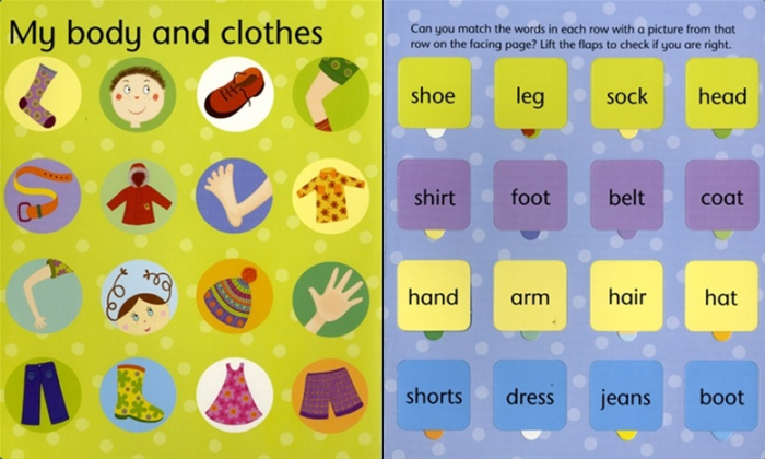 Lift-the-flap word book [6]