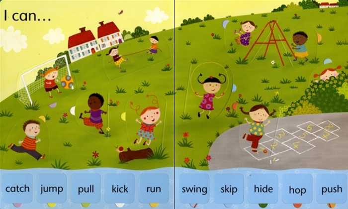 Lift-the-flap word book [2]